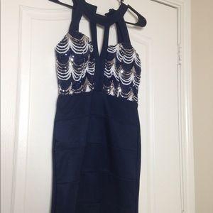 Dresses & Skirts - Navy club dress